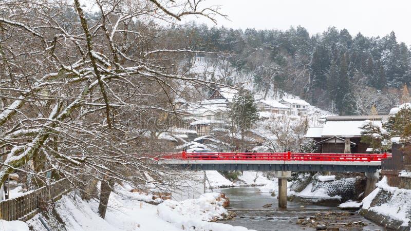 Pont de Nakabashi image libre de droits