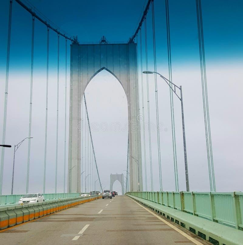 Pont de Newport photo stock