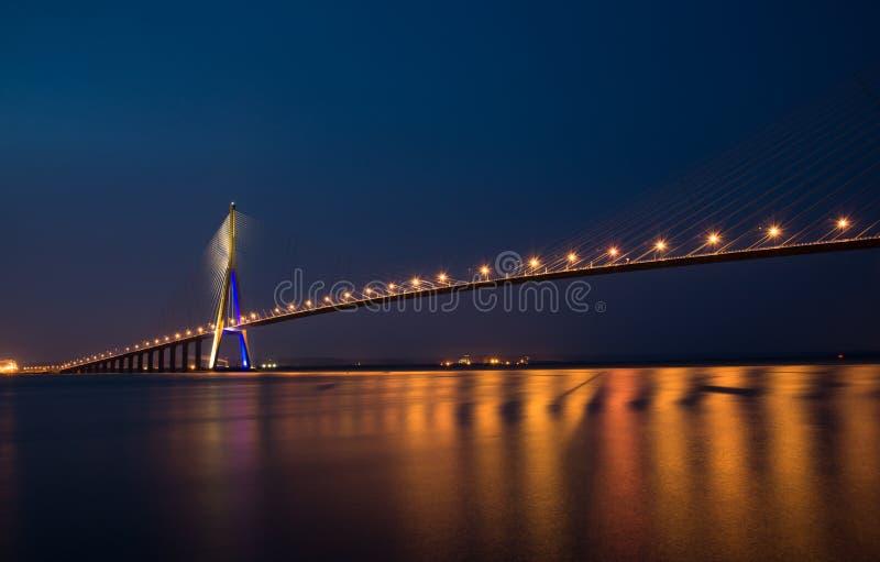 Pont de Normandie stockbilder