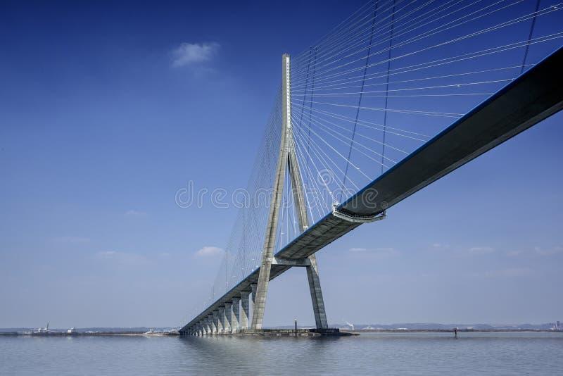 Pont DE Normandie stock foto
