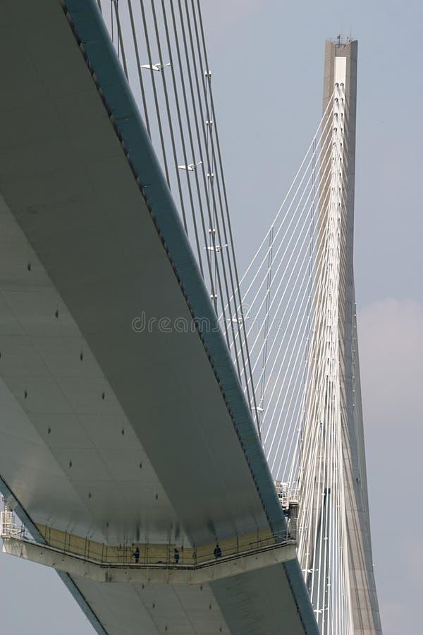 Pont de Normandie (passerelle) photo libre de droits