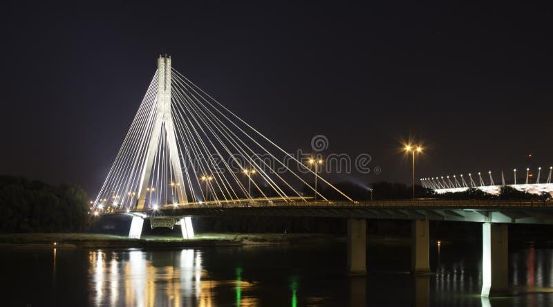 Pont de nuit photos libres de droits