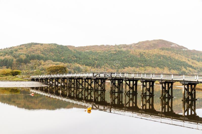 Download Pont De Péage De Penmaenpool, égalisant Photo stock - Image du structure, wales: 77162624
