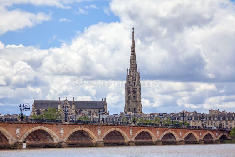 Pont DE Pierre royalty-vrije stock afbeelding