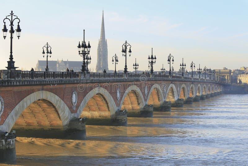 Pont de Pont de Pierre image libre de droits