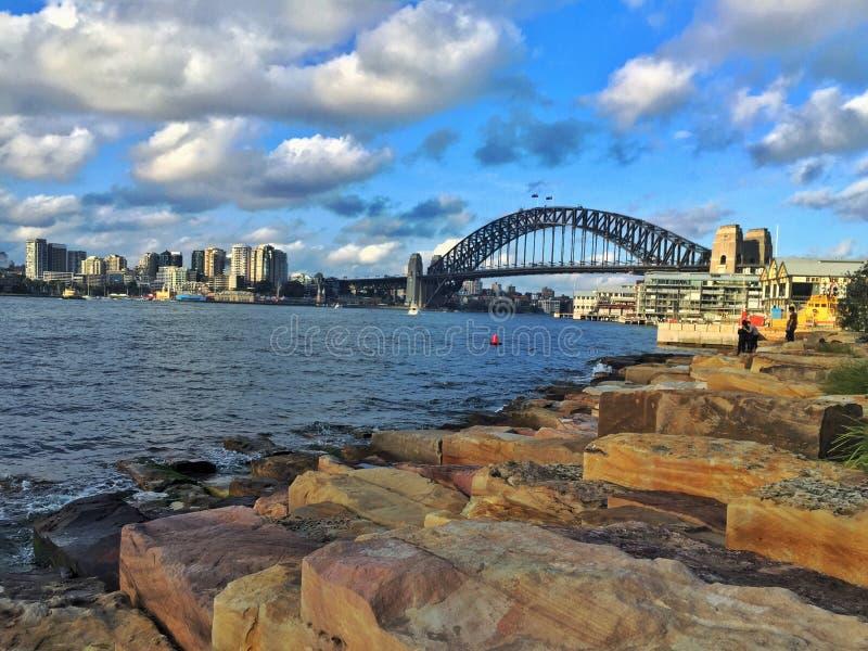 Pont de port images stock