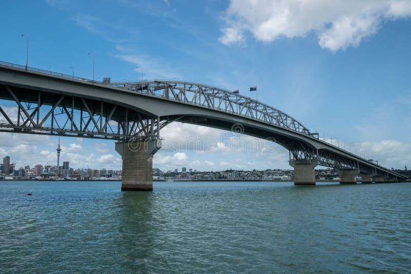 Pont de port d'Auckland à Auckland, Nouvelle-Zélande image stock