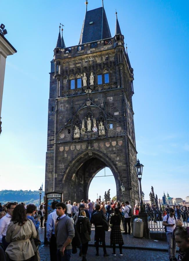 Pont de Prague image libre de droits