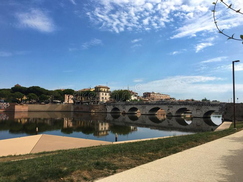 Pont de Tiberius photos stock