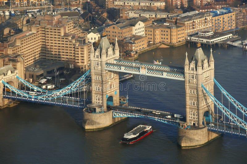 Pont de tour à Londres, R-U images stock