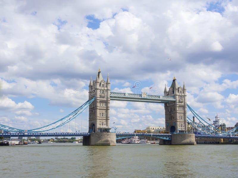 Pont de tour à Londres, R-U, Royaume-Uni image libre de droits