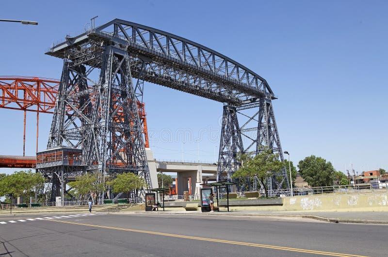 Pont de transporteur de Buenos Aires, Argentine images stock