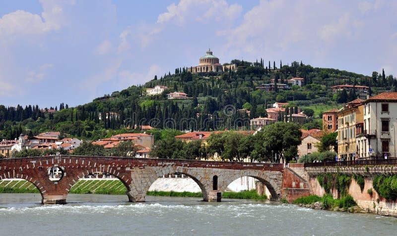 Pont de Vérone, Italie photographie stock