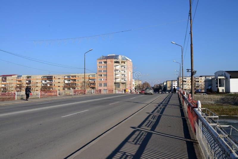 Pont de ville de Lugoj images stock