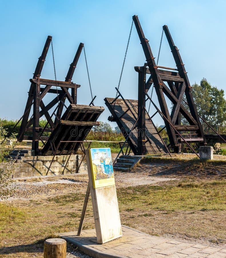 Pont de Vincent van Gogh image libre de droits