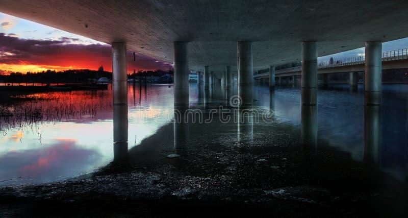 Pont de Vuosaari, Helsinki photos libres de droits