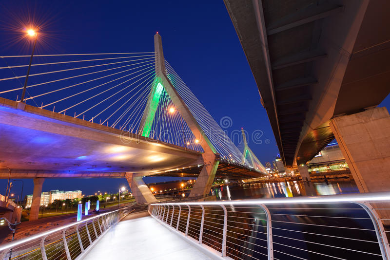 Pont de Zakim photos stock