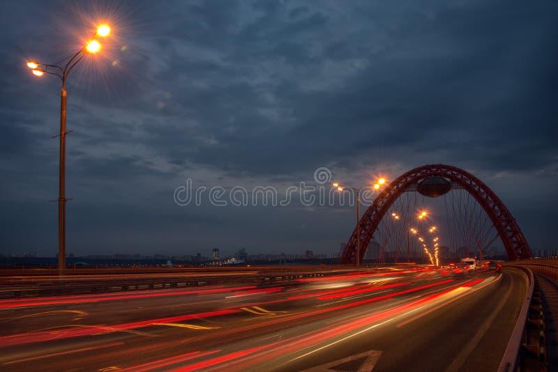 Pont de Zhivopisny images stock