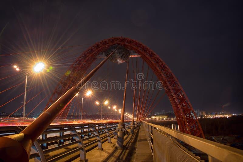 Pont de Zhivopisny photos libres de droits