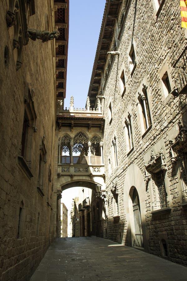 Pont del Bisbe fotografía de archivo