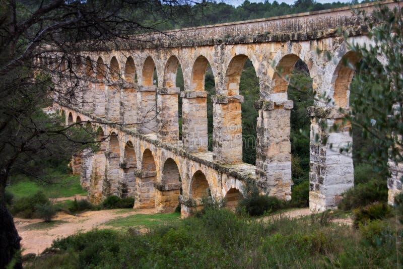 Pont Del Diable, Tarragona, Hiszpania obraz stock