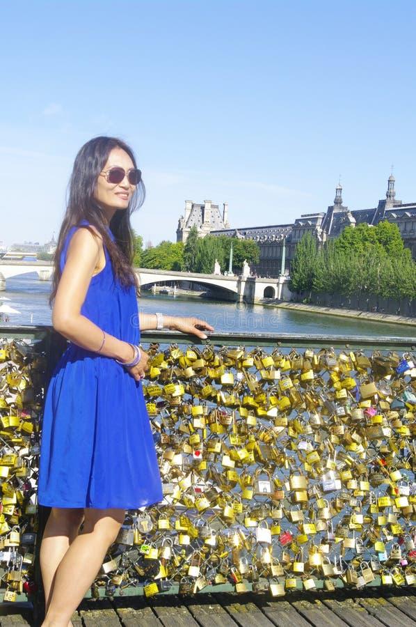 Pont des Arts  photographie stock libre de droits