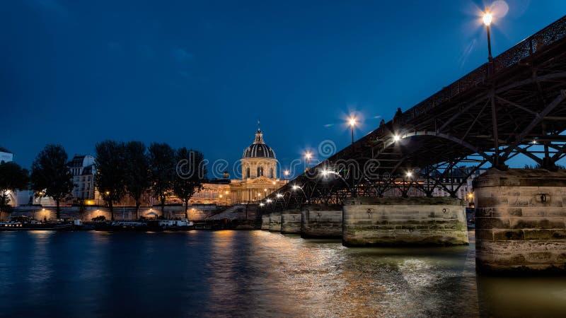 Pont des Arts, Parijs stock fotografie