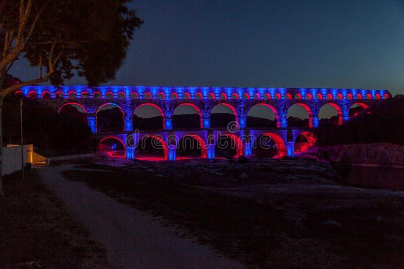 Pont du Гар Провансаль стоковые изображения
