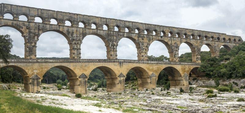 Pont du Гар стоковые фото