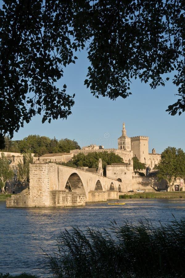 Pont du Avignon, França fotos de stock royalty free