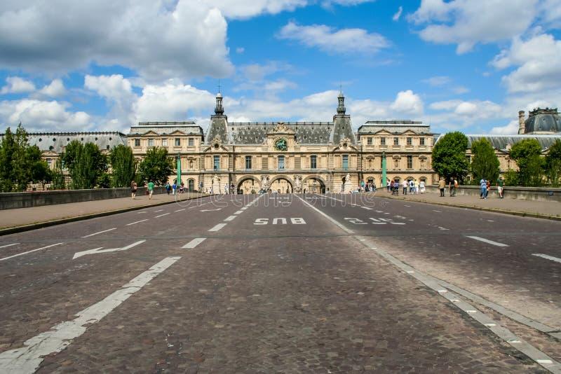 Pont du Carrousel photos stock