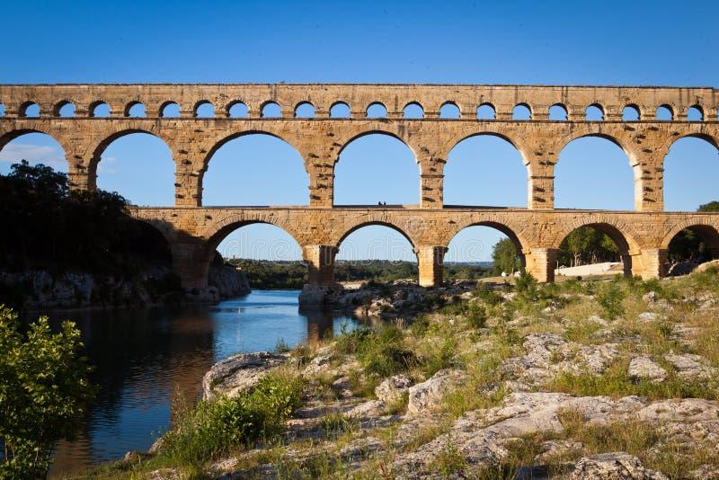 Download Pont du Gard,朗戈多克-鲁西荣 库存照片. 图片 包括有 罗曼, 罗马, 渡槽, 工程, 欧洲 - 22354104