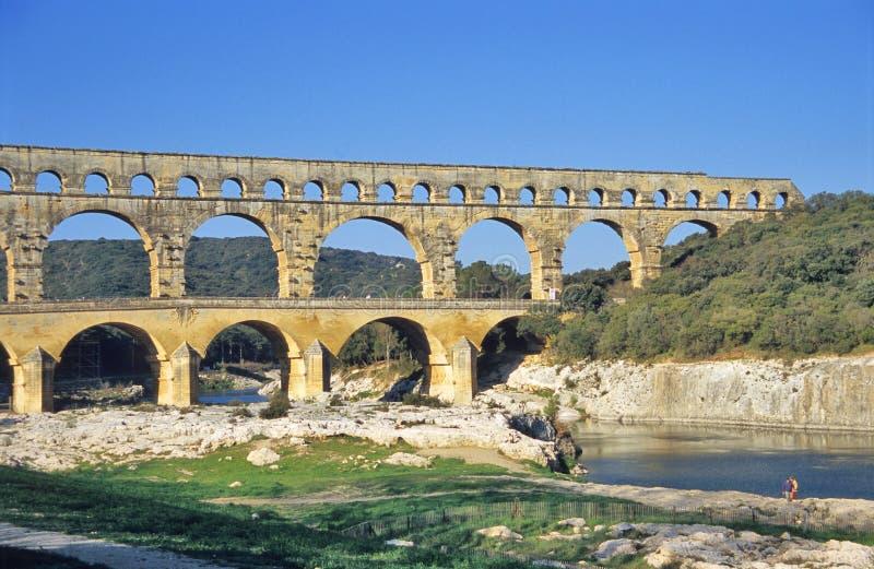 Pont Du Gard imagens de stock