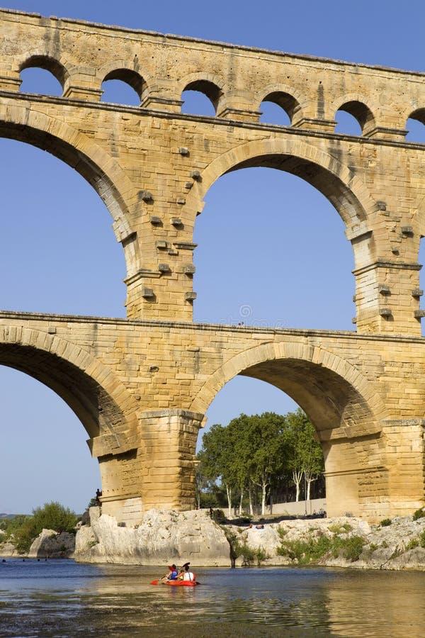 Pont du Gard fotos de archivo libres de regalías