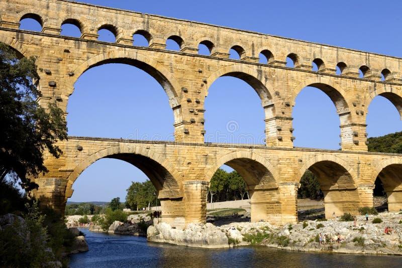 pont du gard стоковые изображения
