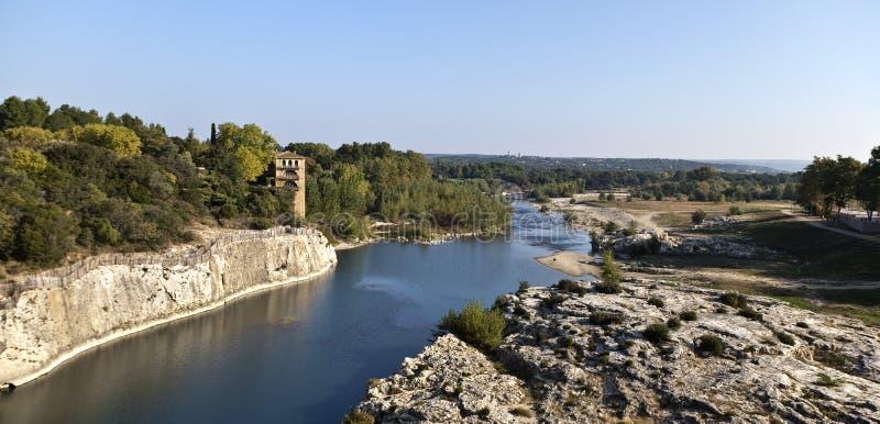 Download Pont du Gard stock photo. Image of landmark, engineering - 23619404