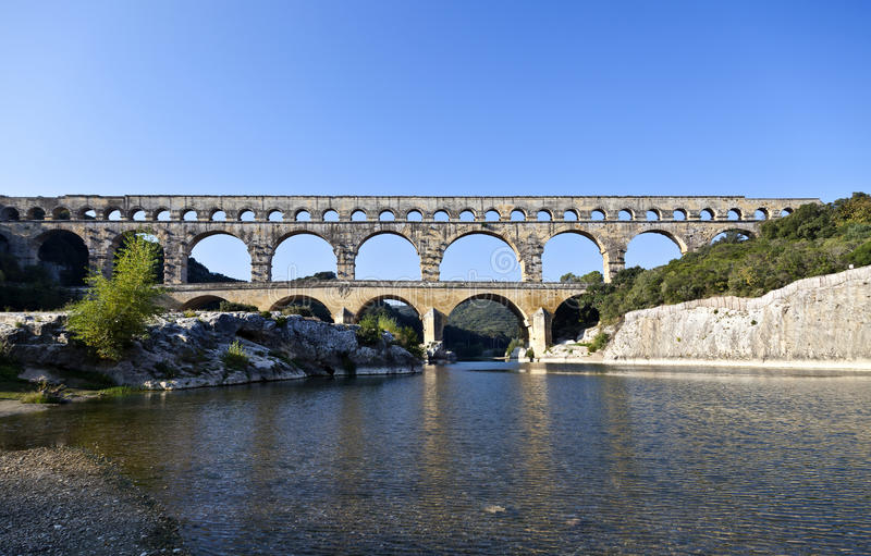 Download Pont du Gard stock image. Image of ancient, pont, rousillon - 23650043