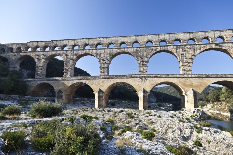 Download Pont du Gard stock image. Image of ancient, stone, languedoc - 23650111