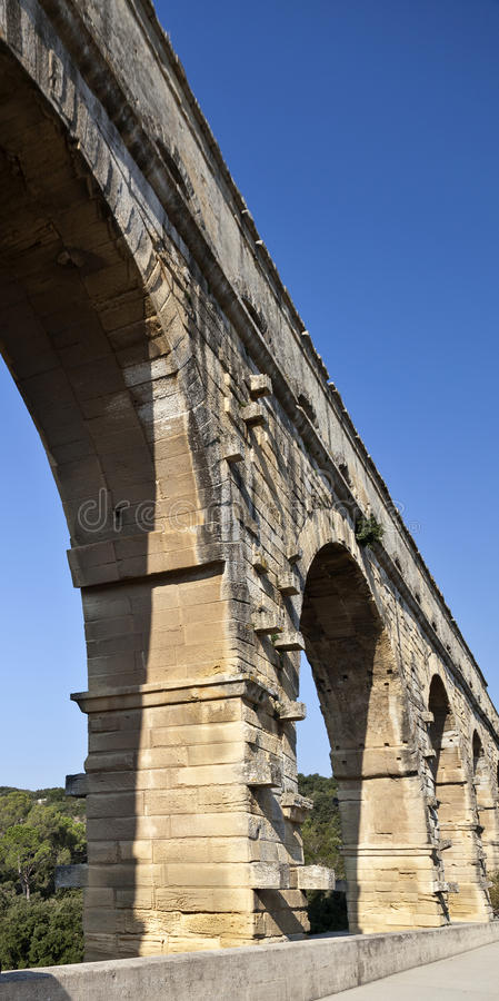 Download Pont du Gard stock photo. Image of aqueduct, unesco, site - 23650190