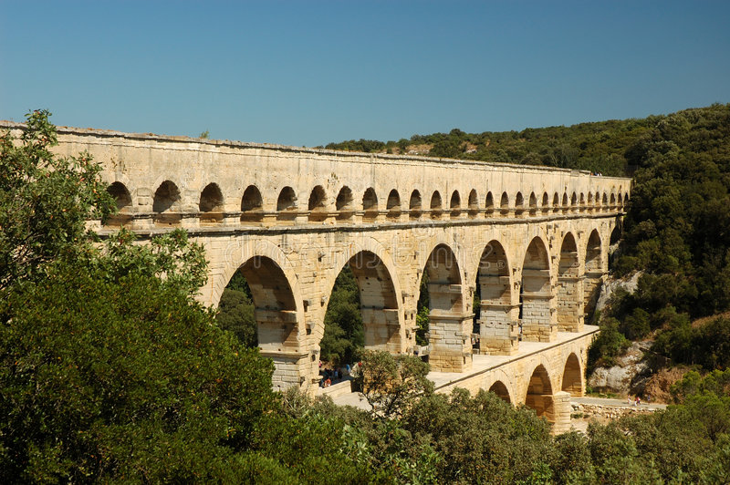 Download Pont du Gard stock photo. Image of gard, historical, bridge - 2945196