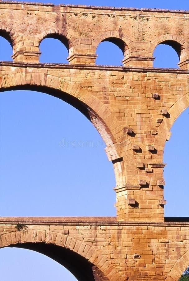 Pont du Gard foto de archivo