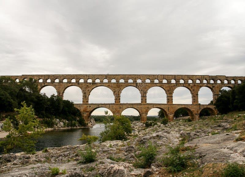 Pont du Gard 4 royalty free stock images