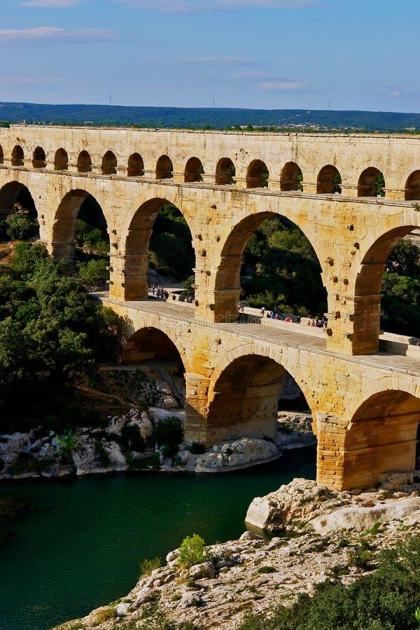 Download Pont Du Gard Aqueduct France Stock Image - Image of remoulins, facade: 6853929