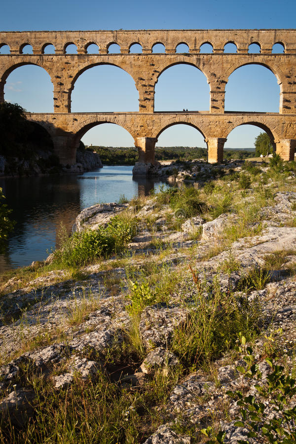 Download Pont Du Gard, Languedoc-Roussillon Stock Image - Image: 22354105