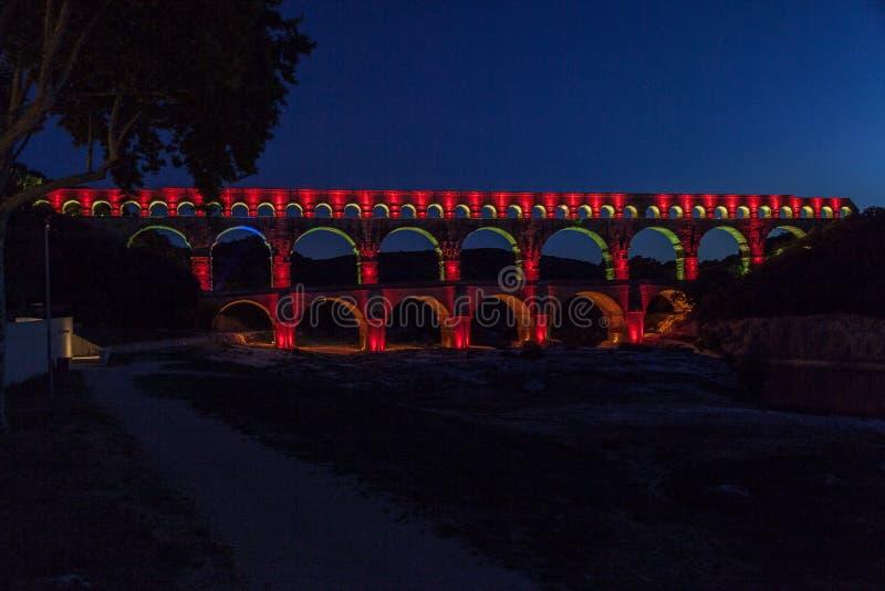 Pont du Gard Provence obrazy royalty free