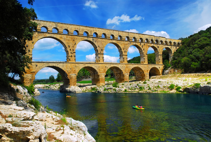 Download Pont Du Gard In Southern France Stock Photo - Image: 4530836