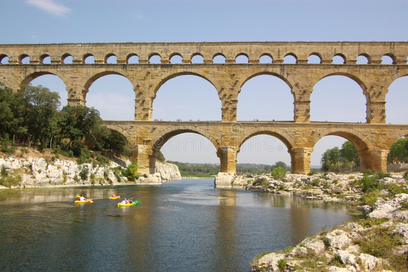 Download Pont du gard view stock image. Image of history, engineering - 3304997