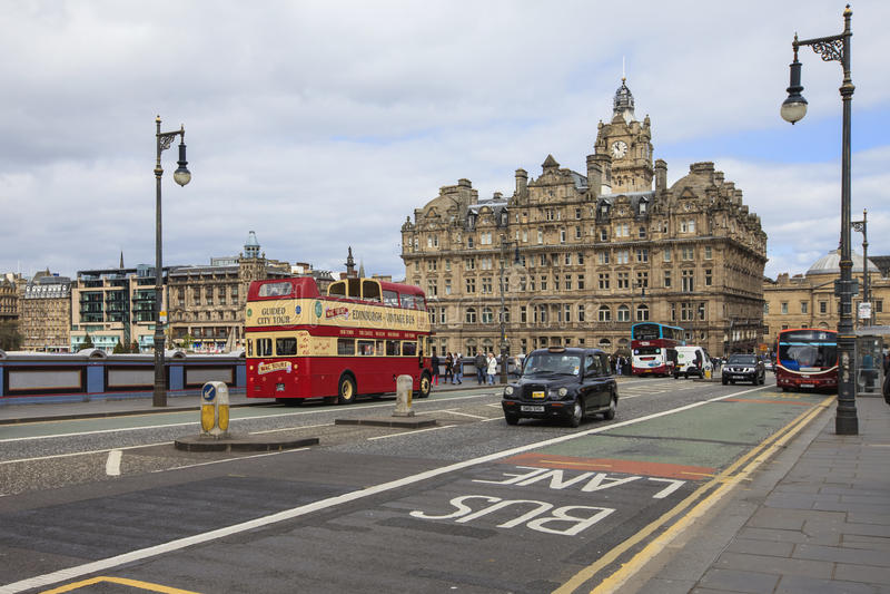Pont du nord à Edimbourg photo stock