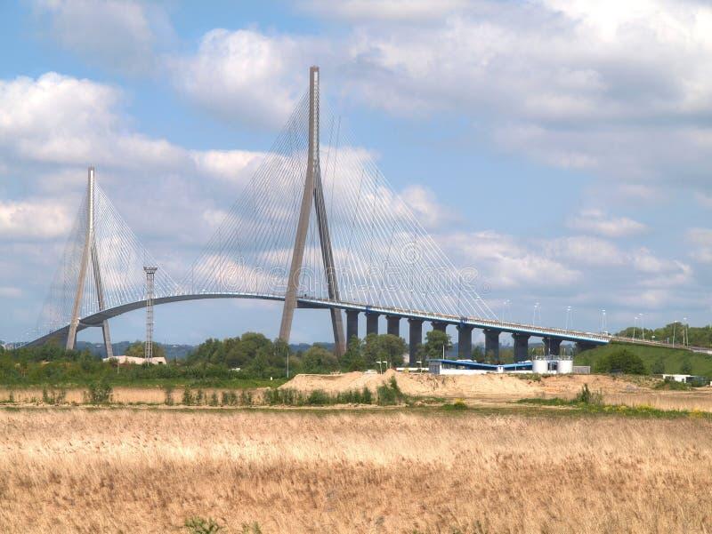 Pont du Normandie images libres de droits