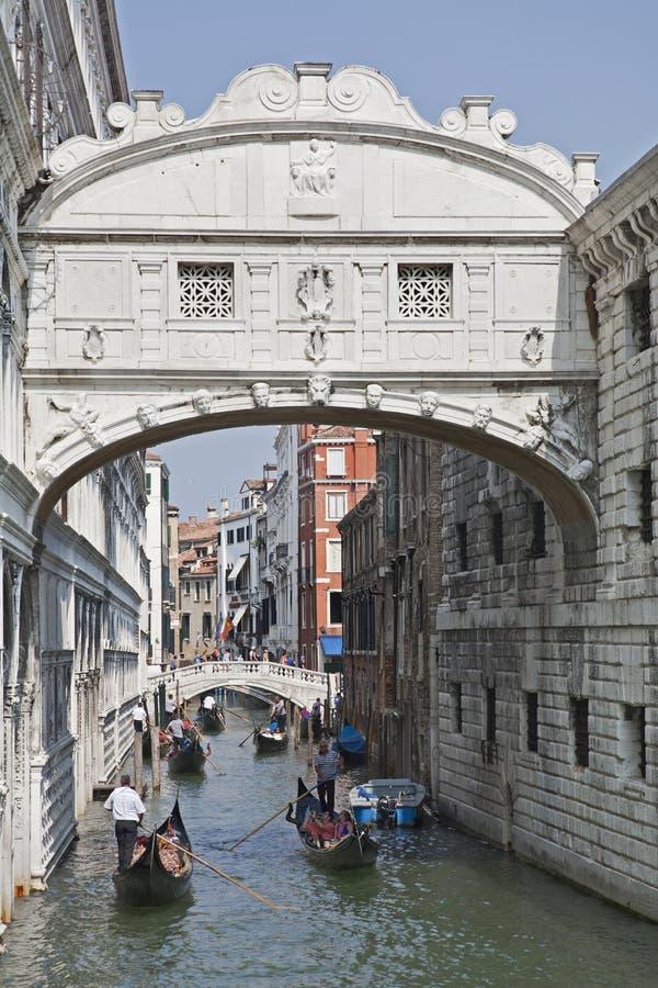 Pont du ` s de Venise des soupirs images libres de droits